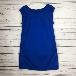 Theory blue Daniela dress 10 NWT